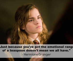 harry potter, quote, and hermione granger image
