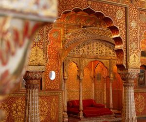 india, palace, and travel image