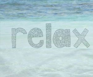 relax and summer image