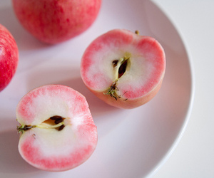 food, apple, and fruit image