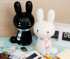 cute, kawaii, and bunny image