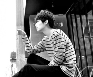 black and white, boy, and clothes image
