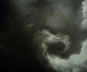 dark, clouds, and storm image