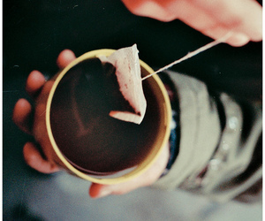 photography, tea, and vintage image