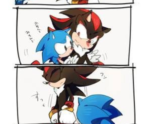 shadow the hedgehog, shadow, and sonic image