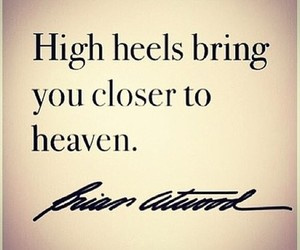 quotes, heaven, and heels image