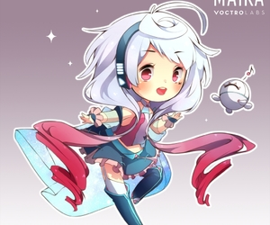 maika and vocaloid image