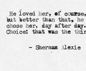 love, quotes, and choice image