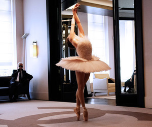 ballerina, ballet, and chanel image