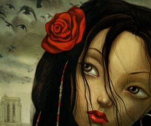 art, Benjamin Lacombe, and illustration image