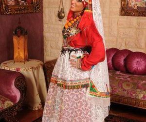 marriage, moroccan, and traditional image