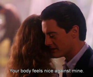 boy, Twin Peaks, and love image