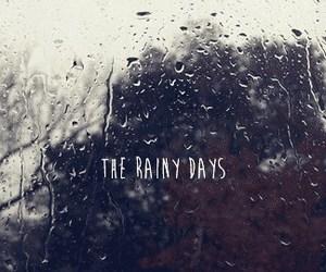rain, rainy, and rainy day image
