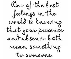 quotes, feelings, and presence image