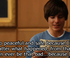zac efron, love, and quote image
