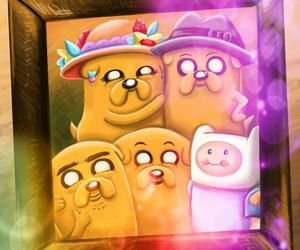 adventure time, family, and finn image