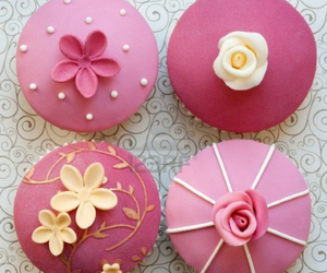 cupcake, decoration, and delicious image