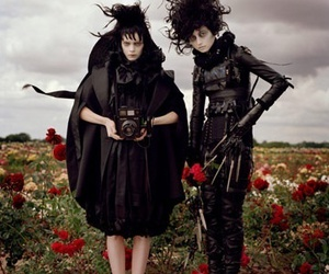 edward scissorhands, fashion, and beetlejuice image