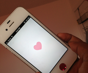 heart, iphone, and it image