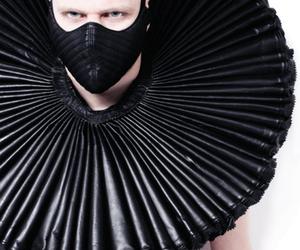 fashion, fetish, and mask image