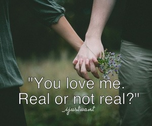 love and real image
