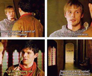 bradley james, british, and colin morgan image