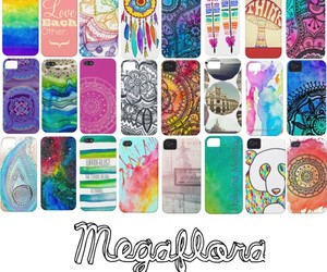 iphone, megaflora, and colorful image