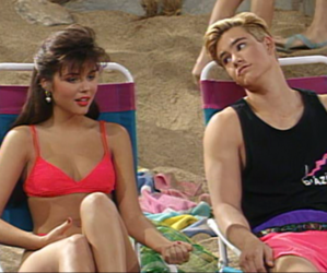 90s, kelly kapowski, and beach image