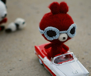 amigurumi, car, and craft image