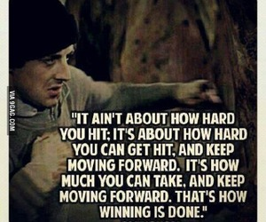 quotes, rocky, and motivation image