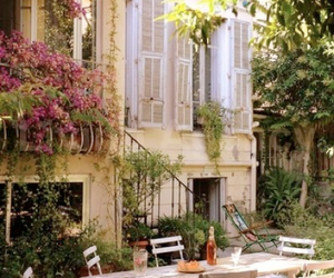 house, summer, and france image