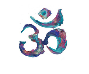 om and art image