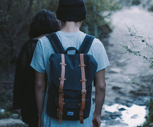 backpack, nature, and cool image