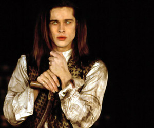 brad pitt, Interview with the Vampire, and vampire image