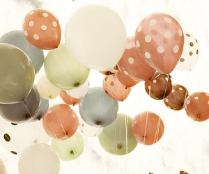 ball, bubble, and pastel image