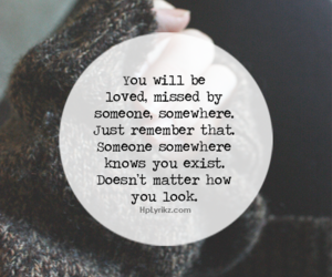 loved, missed, and remember image