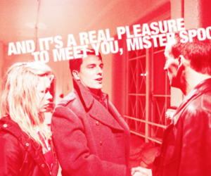 billie piper, rose tyler, and spock image