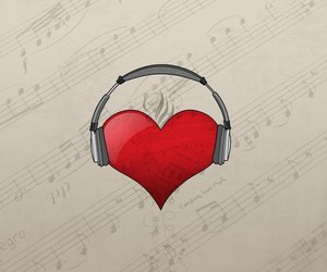 forever, music, and heart image