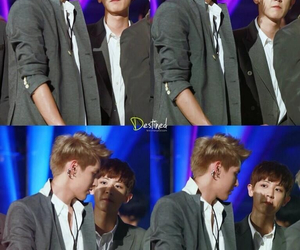 chanyeol, kris, and destined image