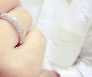 girl, woman, and ring image