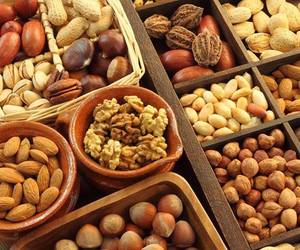 almonds, chestnuts, and brazil image