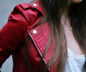 jacket and red image