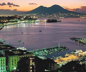 italy, landscape, and Naples image