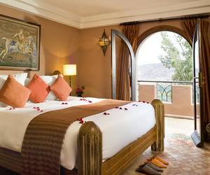 hotel, marrakech, and morocco image