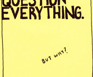 post-it, question, and yellow image