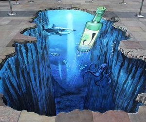 sidewalk chalk art image