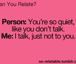 talk quiet person old image