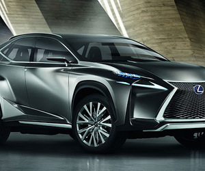 car, lexus, and crossover image