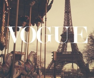 paris, vogue, and love image