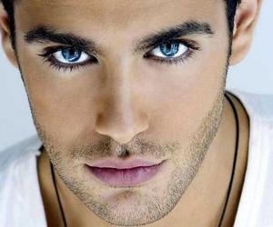 boy, eyes, and blue eyes image